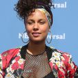 "Alicia Keys au photocall de l'événement ""NBC Universal Upfront"" au Rockfeller Center à New York le 16 mai 2016."