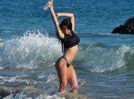 Irina Bright : Craquante à la plage, la bombe russe se réchauffe