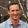 "Ryan Lochte a l'emission ""Extra"" a Los Angeles, le 18 avril 2013"