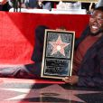 Kevin Hart reçoit son étoile sur le Hollywood Walk of Fame de Los Angeles, le 10 octobre 2016