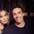 """Camille Lou au casting de """"Danse avec les stars 7"""" avec Grégoire Lyonnet."""