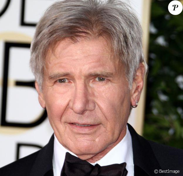 Harrison Ford - La 73e cérémonie annuelle des Golden Globe Awards à Beverly Hills, le 10 janvier 2016.