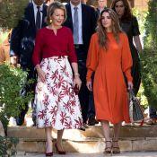 Mathilde de Belgique en Jordanie : Alliée de la reine Rania auprès des réfugiés