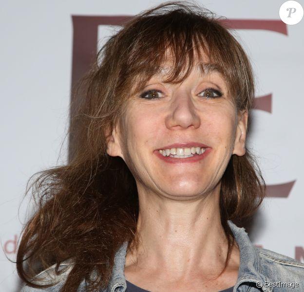 Exclusif - Virginie Lemoine - Générale de la pièce 'La Peur' au théâtre Michel à Paris le 13 octobre 2016. © Denis Guignebourg/Bestimage