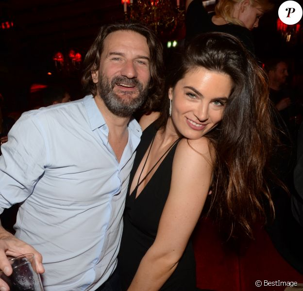 """Exclusif - Fréderic Beigbeder et sa femme Lara Micheli à l'After-party du film """"L'Idéal"""" au Raspoutine à Paris, le 30 mai 2016. © Rachid Bellak/Bestimage"""