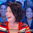 """Lio invitée de """"Salut les terriens"""" sur C8, le samedi 15 octobre 2016."""