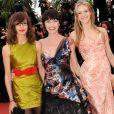 Lio et ses filles au festival de Cannes le 15 mai 2010.