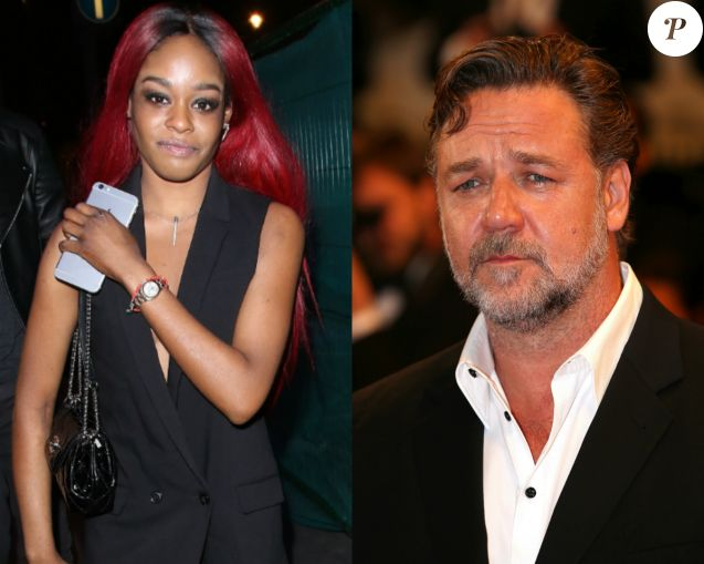 Azealia Banks virée d'une soirée de Russell Crowe après avoir disjoncté.