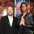 RZA et Russell Crowe lors de la première de The Man With The Iron Fists à New York City, le 28 octobre 2012.