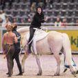 Maud Angelica Behn lors de l'Oslo Horse Show le 16 octobre 2016.
