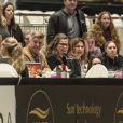 La princesse Märtha Louise de Norvège supportrice de ses filles lors de l'Oslo Horse Show le 16 octobre 2016.