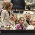 La princesse Märtha Louise et son ex mari Ari Behn étaient réunis pour leurs filles, deux mois après l'annonce de leur divorce, lors de l'Oslo Horse Show le 16 octobre 2016.