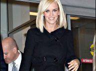 PHOTOS : Jenny McCarthy, alias Mme Jim Carrey, une superbe blonde... tout en noir !