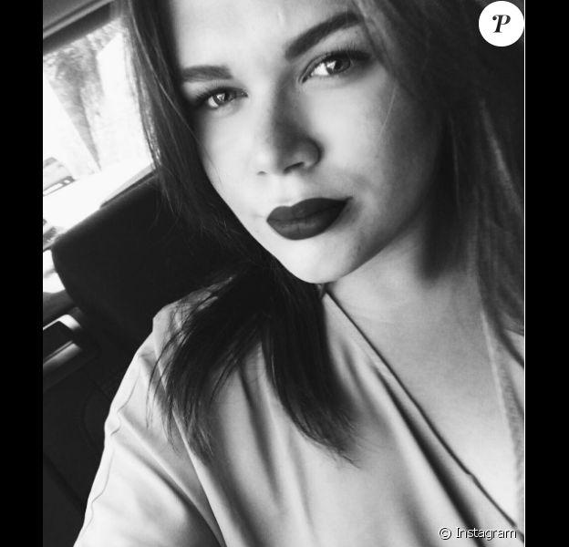 Camille Gottlieb, fille de la princesse Stéphanie de Monaco, selfie publié en septembre 2016 sur Instagram.