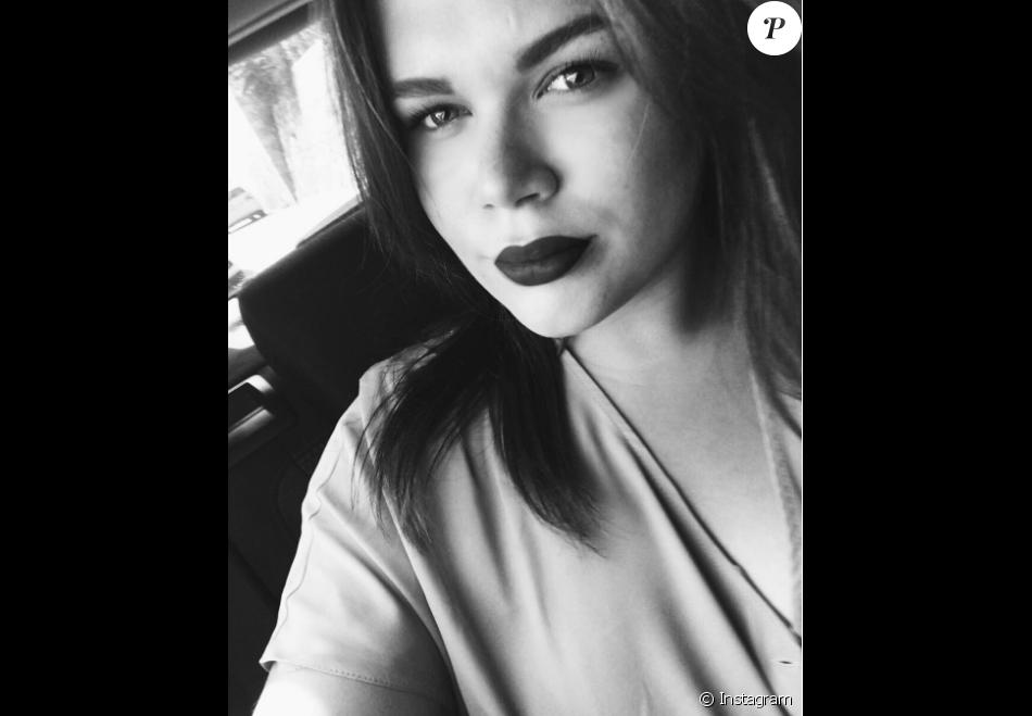 camille gottlieb fille de la princesse st phanie de monaco selfie publi en septembre 2016 sur. Black Bedroom Furniture Sets. Home Design Ideas