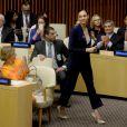 Gal Gadot -L'ONU a officiellement intronisé Wonder Woman, fameux personnage de comics et super-héroïne la plus célèbre au monde, comme Ambassadrice honoraire pour l'autonomisation des femmeset des filles,lors d'une réunion à l'ONU, New York, le 21 octobre 2016.