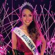Miss Aquitaine 2016 : Axelle Bonnemaison.