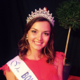 Miss Bourgogne 2016 : Naomi Bailly.