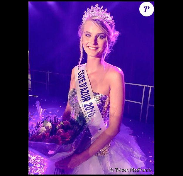 Miss Côte d'Azur 2016 : Maria Pavelin.