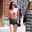 Exclusif - Rumer Willis se promène avec une amie dans les rues de Los Angeles, le 14 mai 2016