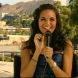 Miss france 2009 :  Valérie Begue en direct de Los Angeles