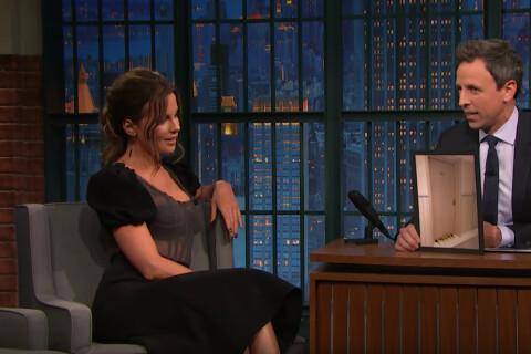 Kate Beckinsale : Des fruits, un pénis et une signature... Son étonnante lubie !