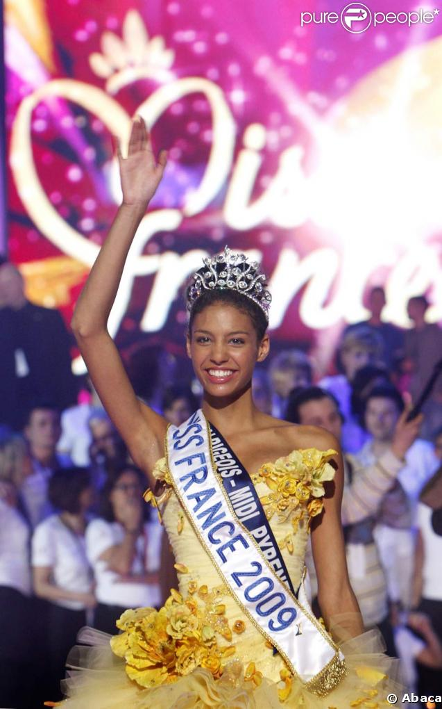 Chloé Mortaud, la nouvelle Miss France 2009
