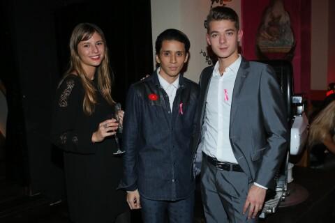 Léonard Trierweiller amoureux, Charlotte Valandrey : Des VIP pour un Everest