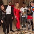 Bryan Tanaka à la soirée d'Halloween de Mariah Carey. Photo publiée sur Instagram au mois d'octobre 2016