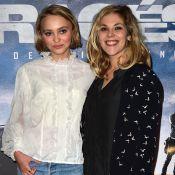 """Alysson Paradis pose avec son fils que Lily-Rose Depp veut """"bouffer"""""""
