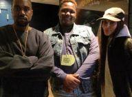 Kim Kardashian souriante au concert de Kanye West : Profil bas et zéro make-up
