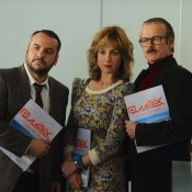 Franck Dubosc, touchant chômeur face à Elsa Zylberstein et F-X Demaison