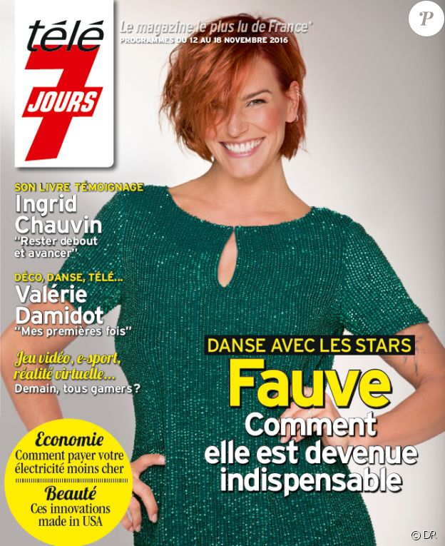 Le magazine Télé 7 jours du 12 novembre 2016