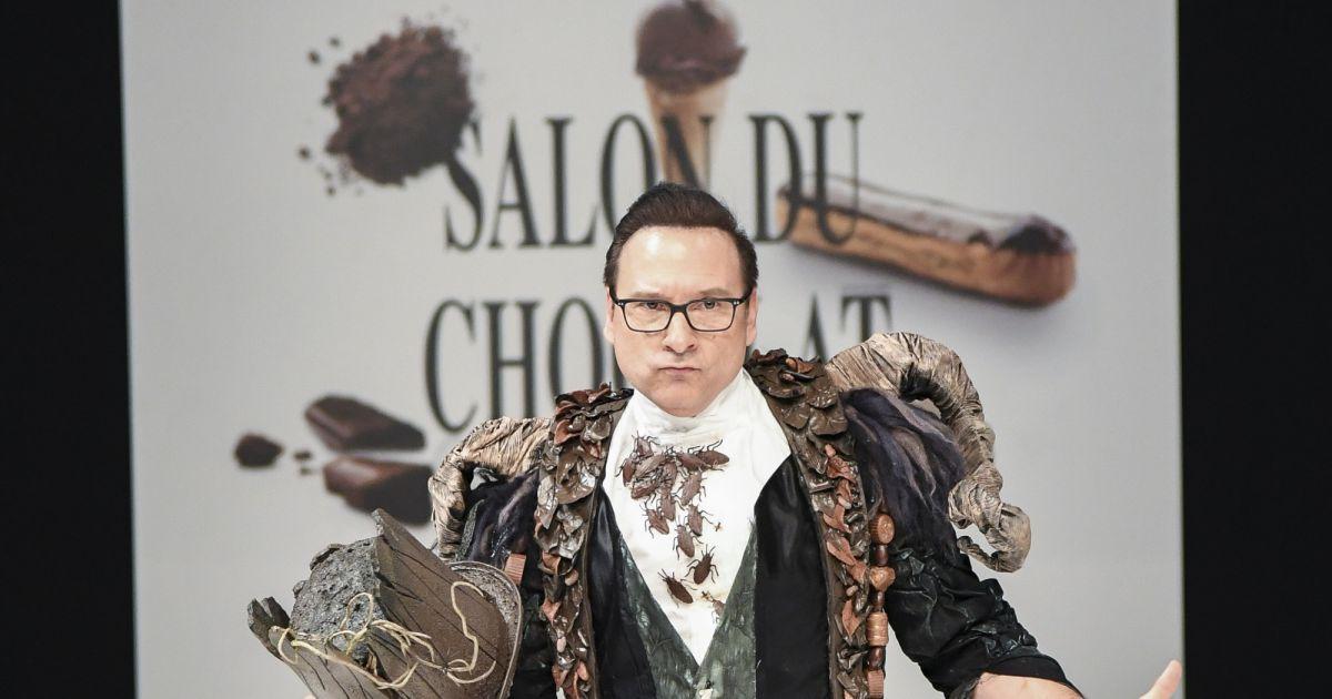 Jean marc g n reux d fil du 22 me salon du chocolat - Salon du chocolat porte de versailles ...