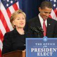 Hillary Clinton et Barack Obama