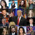 Donald Trump élu président, les people français réagissent.