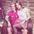 Antoine Griezmann pose avec sa compagne Erika Choperen pour Noël.