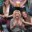 """Exclusif - Sofia Vergara, Ed O'Neill, Julie Bowen et Jesse Tyler Ferguson sur le tournage de la saison 8 de """"Modern Family"""" à Los Angeles, Californie, Etats-Unis, le 11 août 2016. © CPA/Bestimage11/08/2016 - Los Angeles"""