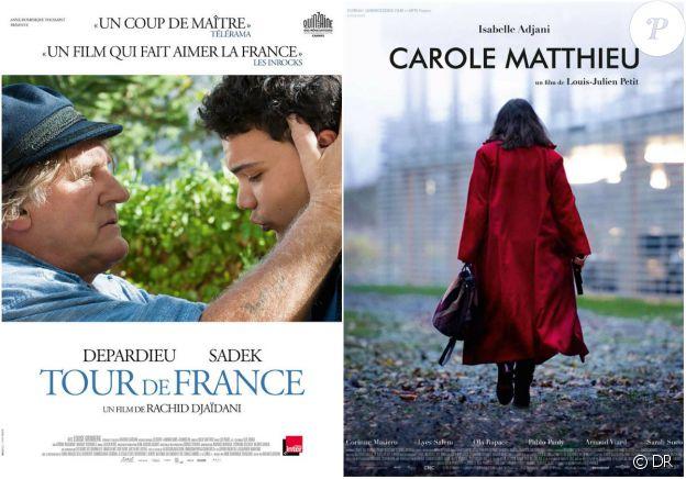 """Gérard Depardieu et Isabelle Adjani sont en compétition officielle du 3e Festival du cinéma et musique de film de La Baule avec """"Tour de France"""", réalisé par Rachid Djaïdani, et """"Carole Matthieu"""" de Louis-Julien Petit, jusqu'au 13 novemnre 2016."""