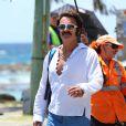 """Julian McMahon sur le Tournage du film """"Flammable Children"""" à Queensland, Australie, le 21 octobre 2016."""