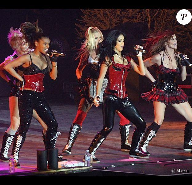 Les Pussycat Dolls en concert au Jingle Bell Ball à Londres le 10 décembre 2008