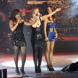 Les Sugababes en concert au Jingle Bell Ball à Londres le 10 décembre 2008