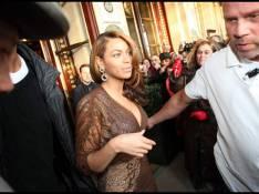 PHOTOS : Beyoncé Knowles, au moins... elle est à Paris !