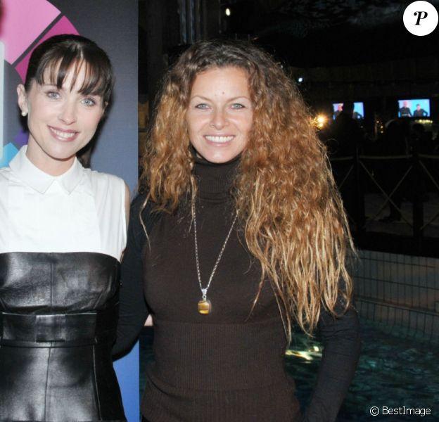 """Manuela Lopez - SOirée de lancement de la nouvelle chaîne TNT """"IDF"""" en 2008."""