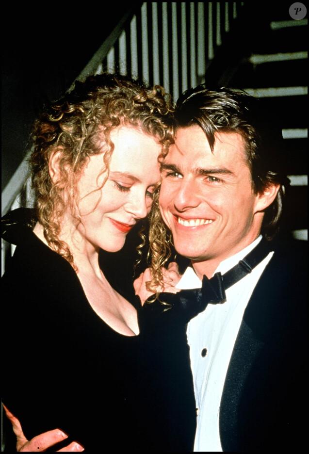 Nicole Kidman et Tom Cruise en novembre 1998.