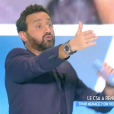 """""""Cyril Hanouna répond au CSA dans l'émission """"Touche pas à mon poste"""" sur C8. Le 23 novembre 2016."""""""