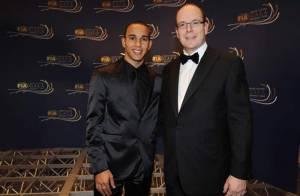 PHOTOS : Lewis Hamilton n'a pas présenté sa sublime fiancée Nicole Scherzinger au... Prince Albert !
