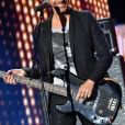 """Exclusif - Le chanteur Calogero - Enregistrement de l'émission """"La Chanson de l'Année, Fête de la Musique"""" à Nîmes, le 19 juin 2015"""