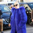 Lady Gaga au Grand Palais à Paris pour préparer le défilé Victoria's Secret le 29 novembre 2016. © Agence / Bestimage