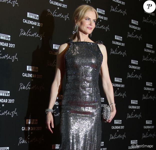 """Nicole Kidman à la soirée de lancement du calendrier """"Pirelli 2017"""" à la Cite du Cinéma. Saint-Denis, le 29 novembre 2016.© Denis Guignebourg/Bestimage"""